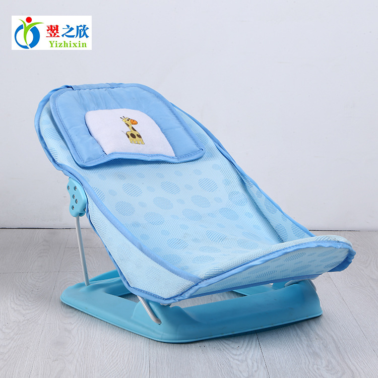 Foldable Baby Bath Tub Bed Pad Bathtub Bath Chair Shelf Baby Shower Nets Newborn Baby Bath Seat Infant Bath Bathtub Support intelligent 1 lcd electronic 7 grid pill capsule medicine organizer case blue white 2 x aaa