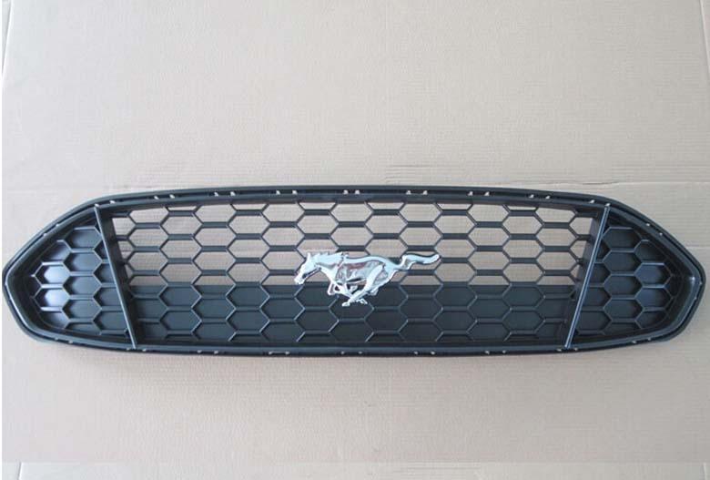 Calandre avant centrale Mustang Grille Grille lunette nid d'abeille maille couverture pour Ford Fusion 2013 2014 2015