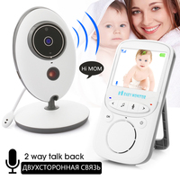 New Arrival 2 4GHz Wireless Baby Monitor VB605 Infant Babysitter Digital Video Camera Audio NightVision Temperature