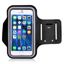 Opaska na ramię do iPhone #8217 a X 8 7 6 6 s sport opaska na ramię do biegania uchwyt na telefon komórkowy etui dla Apple iphone 6 7 8 Plus okładka etui na telefony tanie tanio ABCTen For Apple iPhone X 8 7 6 6s iphone 6 7 8 Plus Apple iphone ów