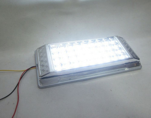 36led Dc 12v White Vehicle Car Interior Roof Light Dome Cabin Ceiling Lamp Light In Ceiling