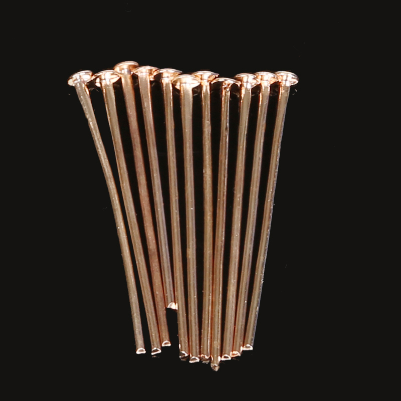 New Arrival  Rose Gold  Head Pins Jewelry Findings (16mm 20mm 24mm 30mm 38mm  45mm)