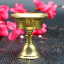 Multi-Size Copper Alloy Candlestick Candelabrum Candle Holder Collectable Party Decor Home Retro Craft Durable Candlestick