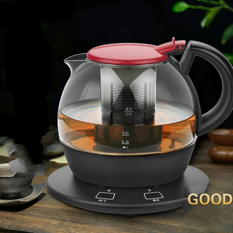 Electric kettle heating glass automatic power blackouts used serve teapot Safety Auto-Off Function