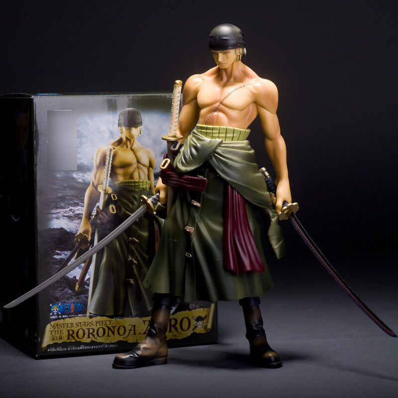 Japan Anime One Piece Roronoa Zoro Two Years Later Big 22cm PVC Action Figure Gift Collectible Model Toys