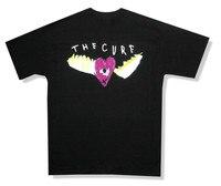Các Thuốc Chữa Cánh Trái Tim Mắt Hình Ảnh Đen T Shirt New Chính Thức Ban Nhạc Robert Smith Tuỳ T Áo Sơ Mi Thêu