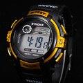 Jimshop Freeshipping! menino Multifunções LED Digital Data de Alarme À Prova D' Água Esportes Relógio de Pulso de Quartzo 2016 Venda Quente
