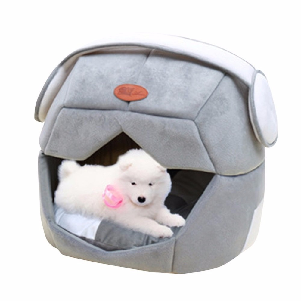 space helmet design 2 in 1 foldable pet cave bed teddy puppy dog kennel cat pet sleeping bag for small dogs cats animals rabbitsin houses kennels u0026 pens