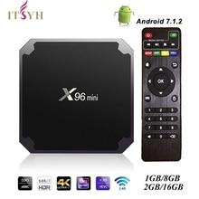 Smart TV Box Android TV box   set top/Smart TV media Box 1g2g/8g16g Amlogic S905W Quad Core 2.4GHz WiFi Set top box JD-003 ITSYH цена и фото