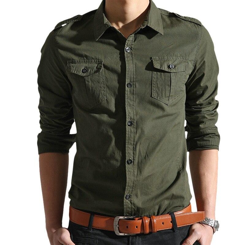 M 4XL Plus Size Men Shirt 2016 Brand Spring Chemise Homme