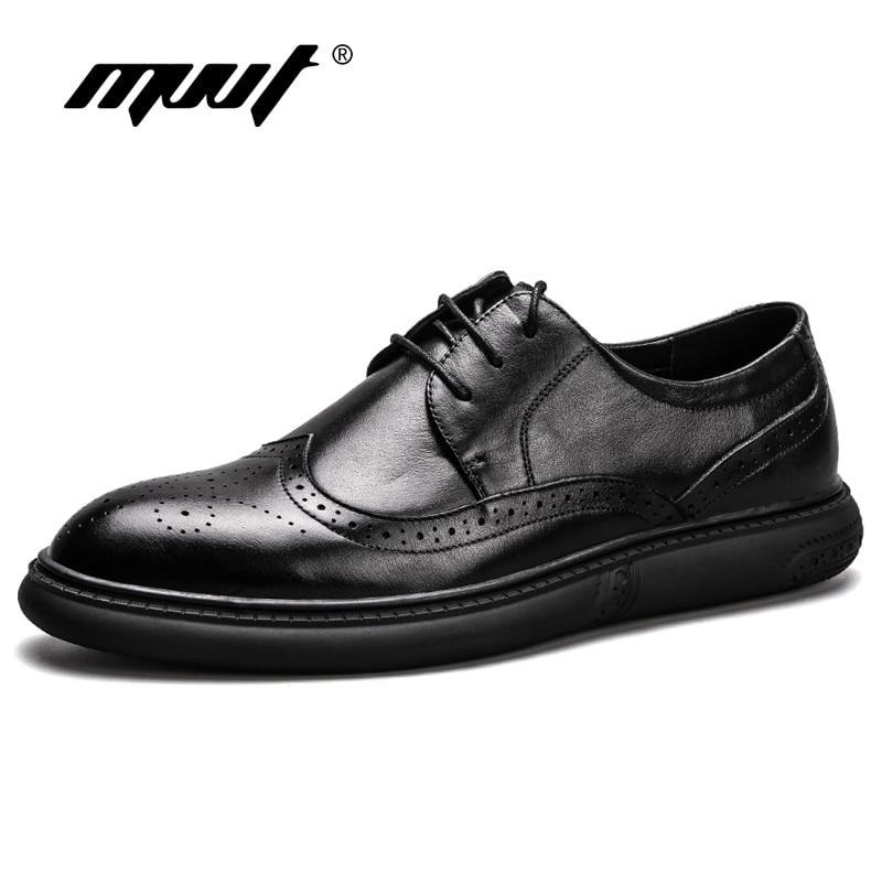 2018 New Quality Genuine Leather Shoes Men Casual Shoes Fashion Men Flats Shoes Soft Comfot Men