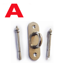 Ceiling Hook Buckle Rings Plate for Aerial Yoga Suspension Resistance bands fitness Hanging Fixed Trainning