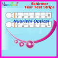 J1 100 Полосы 50 Пар Schirmer Tear Тест-Полоски Бумаги Офтальмологические Испытания Бумаги Бесплатная Доставка
