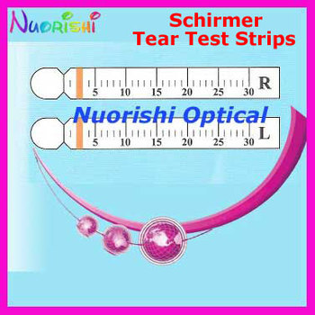 J1 100 Strips 50 Pairs Schirmer Tear Test Paper Ophthalmic Testing Free Shipping - sale item Eyewear & Accessories