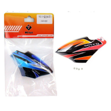 Free Shipping WLtoys V922 Spare Parts V922-14 Canopy / Head Cover For Wltoys V922 3D 6 Channel RC Helicopter Blue & Orange