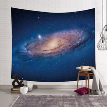 PEIYUAN Fantasy Outer Space Pattern Wall Cloth Hanging Tapestry Beautiful Party Gift Bedspread Beach Towel Yoga Picnic Mat