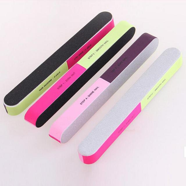Nail Buffers Files Professional Art Nails File Buffer Beauty Manicure Tools Polishing Block