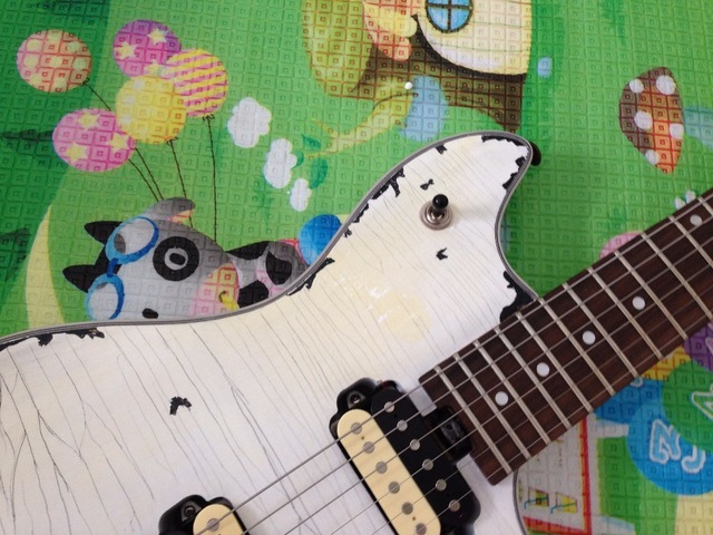 EVH wolfgang  Electric Guitar FBC-124 Relic 100%  Handmade White Color Real Photos 4