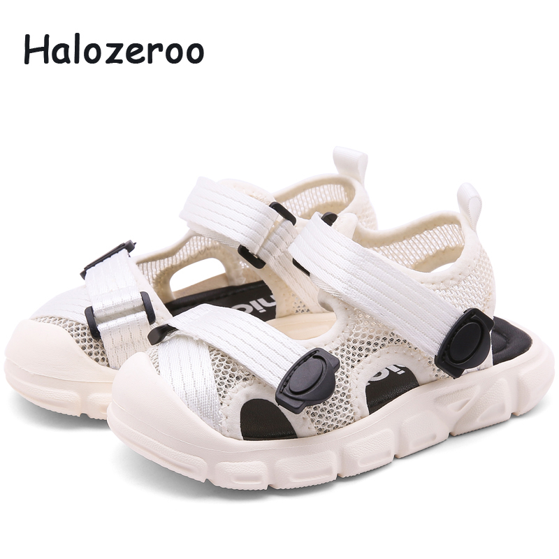 Summer 2019 New Kids Beach Sandals Baby Girls Casual Sandals Boys Pu Leather Shoes Children Soft Sport Sandals Black Brand FlatsSummer 2019 New Kids Beach Sandals Baby Girls Casual Sandals Boys Pu Leather Shoes Children Soft Sport Sandals Black Brand Flats