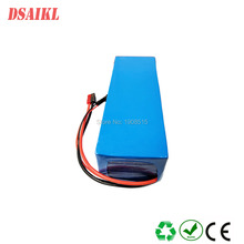 цена на battery with charger: 500W Customized 18650 13S4P E-bike 18650 battery pack 48V 12Ah for ebike