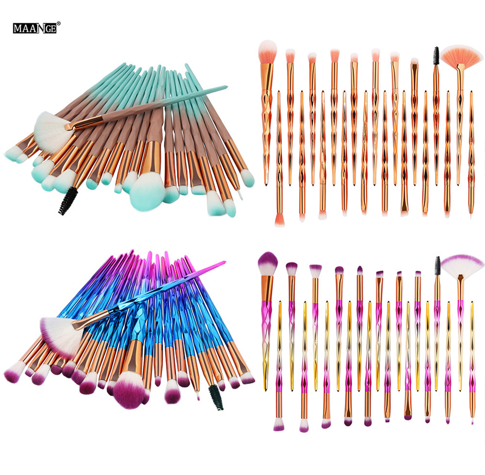 Tesoura de Maquiagem foundation sobrancelha delineador blush cosméticos Material : lã Persa