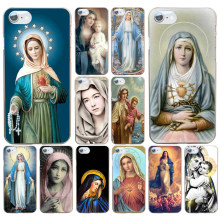 250DF Retro Vintage Art Statue Virgin Maria Hard Transparent Cover Case for iphone 4 4s 5 5s se 6 6s 8 plus 7 7 Plus X(China)