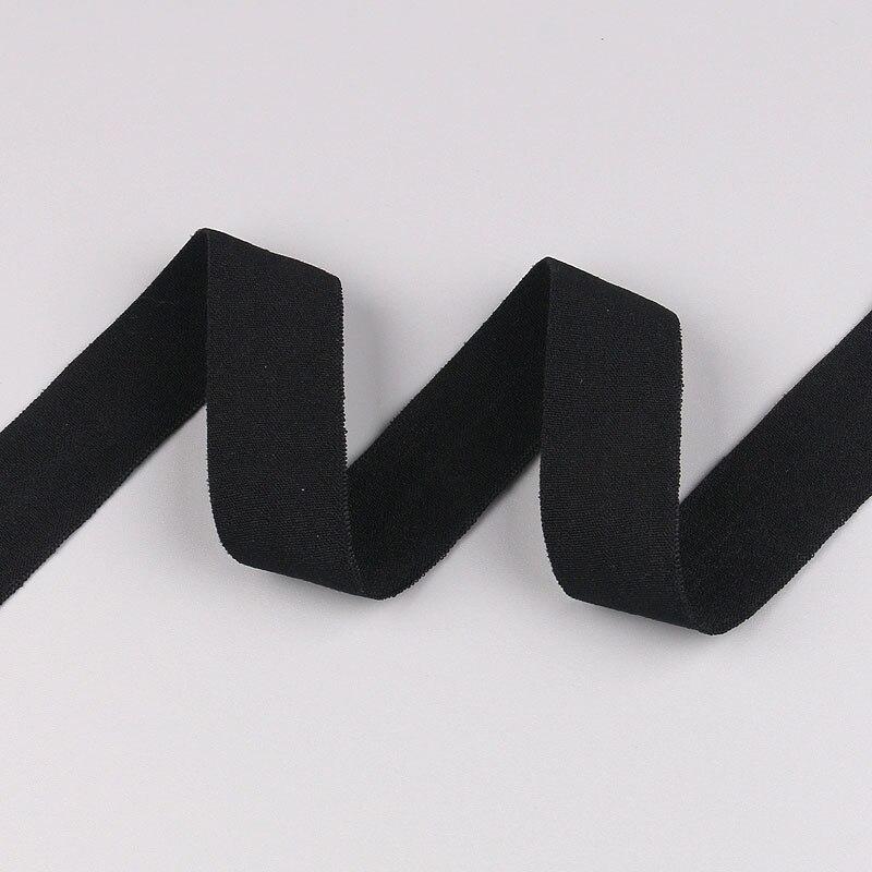 5 ярдов/Лот 20 мм ширина 34 цвета эластичная лента использование для diy аксессуары и одежда галстук лента для волос - Цвет: 01