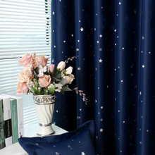 Home Garden - Home Textile - The New All Over The Sky Star 100% Polyester Modern Window Curtain Living Room Curtains Drapes Blackout Curtains For The Bedroom