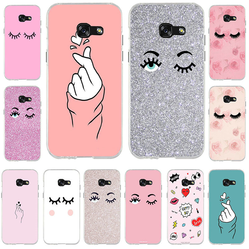 Chiara Ferragni Eyes Soft TPU Phone Cases Bags Silicone for Samsung Note 2  3 4 5 8 for HTC One U11 M7 M8 M9 M10 A9 E9 Plus Shell c259ac4cecb4