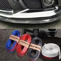 Best Match 250cm auto bumper carbon fiber Rubber protection Anti collision car strips For PicassoC2/C3/C4C5/C6/C8