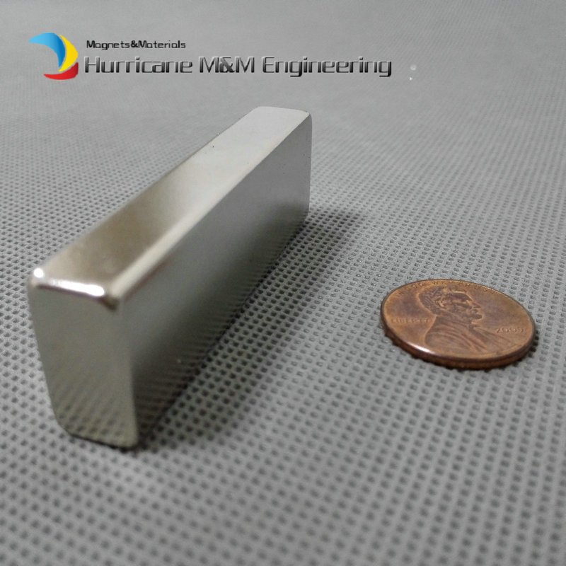 Motor NdFeB Magnet Block 60x20x10 mm Neo Bar Strong Neodymium for Wind Turbine Drinking water purify Grade N50 NiCuNi Plated 2pcs d22 200mm 10000 gauss strong neodymium magnet bar iron material removal