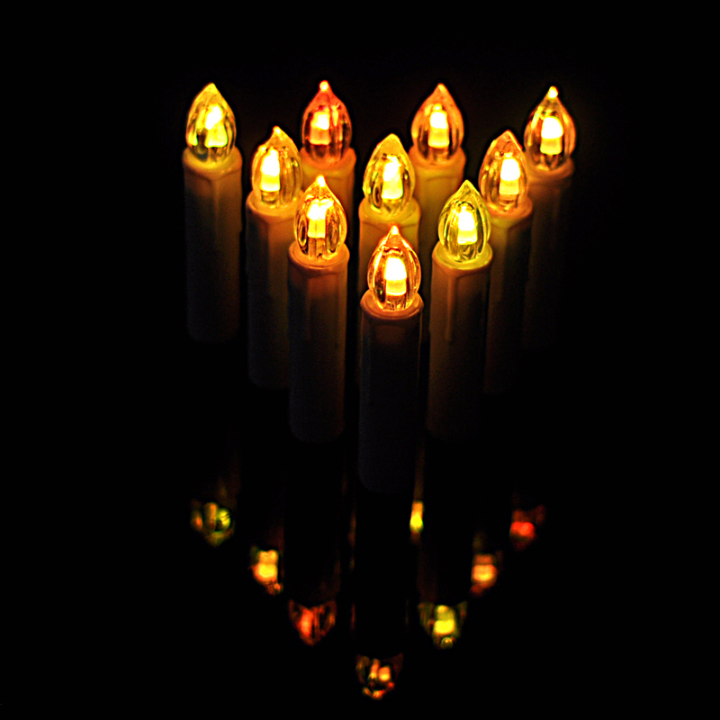 7 candle christmas decoration