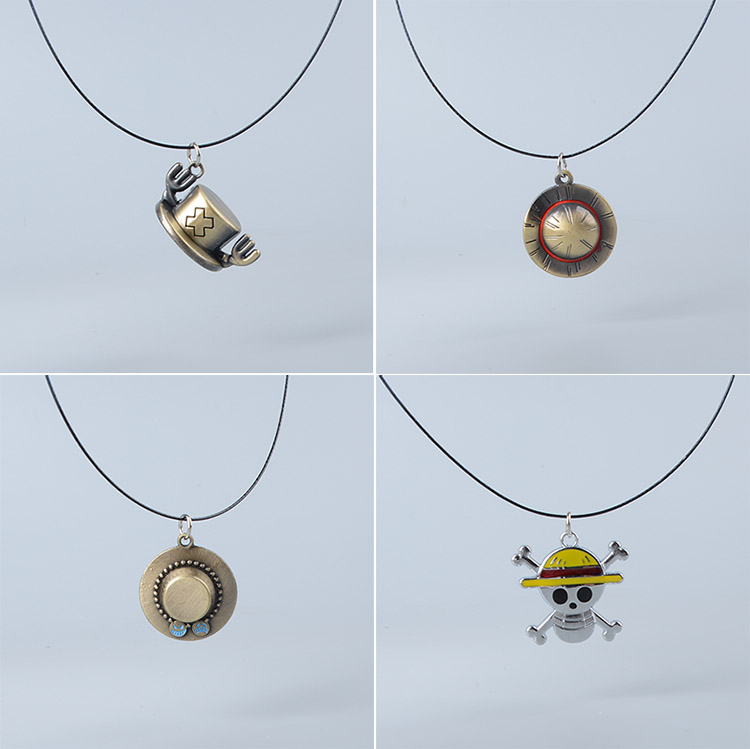 Hat Keychain One Piece Pendants