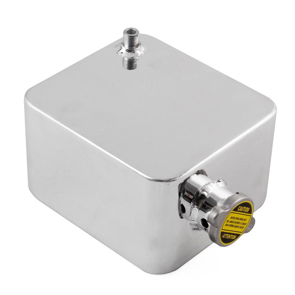 Pièces réservoir d'eau remplacement conteneur voiture Expansion 2.5L vis accessoires aluminium universel trop plein utile - 2