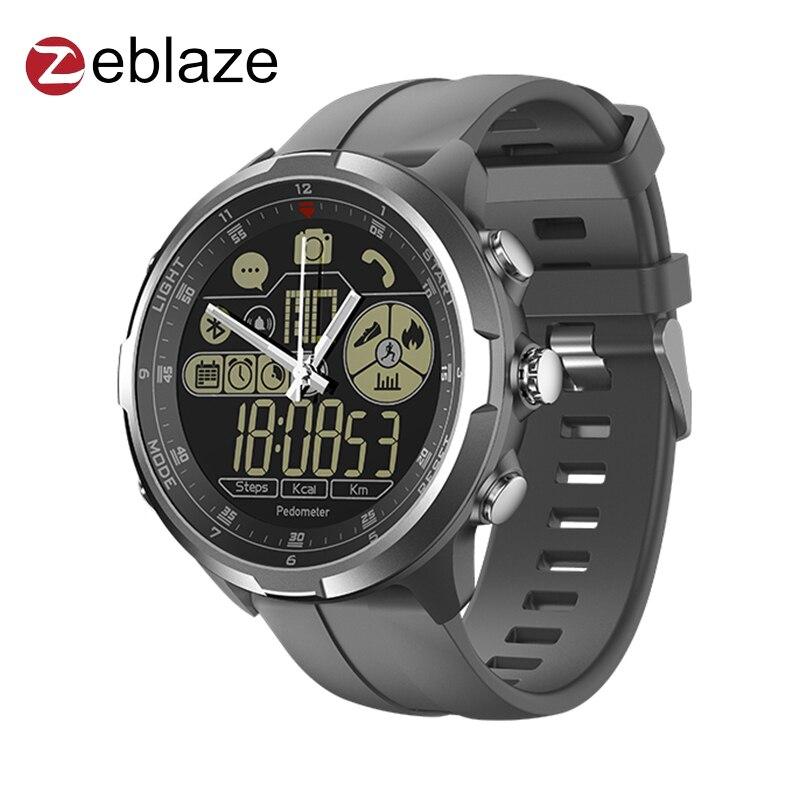 Zeblaze VIBE 4 híbrido insignia resistente reloj inteligente 33-Mes de tiempo de espera de 50 m resistente al agua todo el día rastreador de actividad smartwatch
