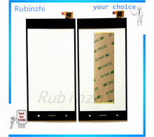 Black Phone Touch Front Glass Lens For Fly IQ441 Touch Screen Replacement LCD Display Outer Sensor Glass With Tracking Number for fly iq434 lcd display screen not touch screen digitizer sensor 3m sticker free tracking