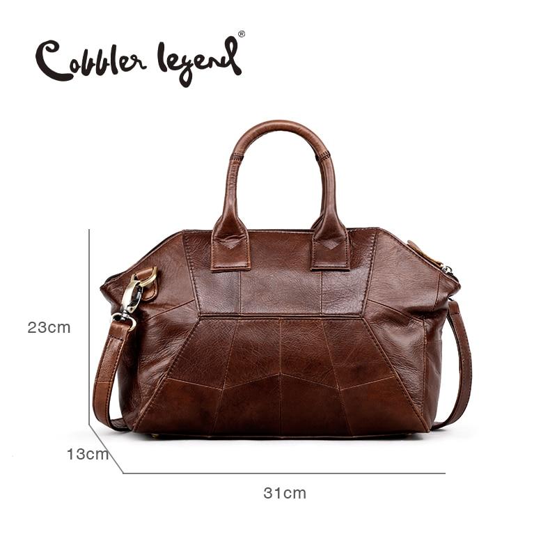 Cobbler Legend 2019 New Arrival Genuine Leather Women Handbags Fashion Crossbody Bags Female Handbag Trend Bag Bolsas #0900507-1
