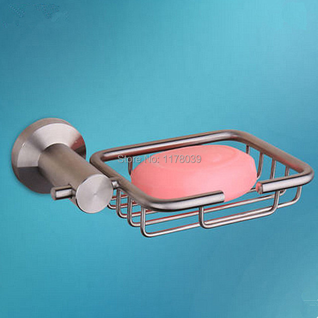 Stainless Steel Brushed Soap Dishes,bathroom Soap Dishes,wall Mounted  Bathroom Soap Holder,