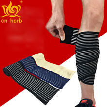 CN herb 2 pcs contraction bandage compression rubbing sleeve outdoor running mountaineering basketball football protective