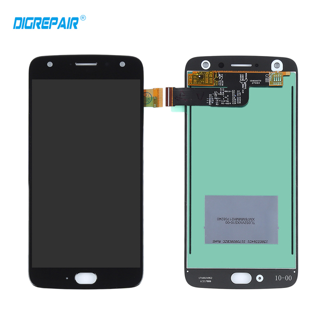 Black LCD For Motorola Moto X4 LCD Display Touch Screen Panel with Digitizer Front Glass Assembly Replacement Parts Accessory
