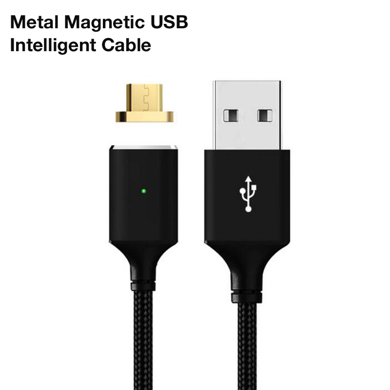 Yelping Braid Micro Mini USB Cables Magnetic Data Charge Cord Fast Charging Cable for Huawei Xiaomi Samsung PPTV LG Sony Android