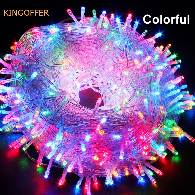 AC220V 50M 400LEDS EU Plug Fairy String Light 8 Modes Outdoor Chirstmas String Garland For Xmas Wedding Christmas Party Holiday ac220v 50m 400leds eu plug fairy string light 8 modes outdoor chirstmas string garland for xmas wedding christmas party holiday