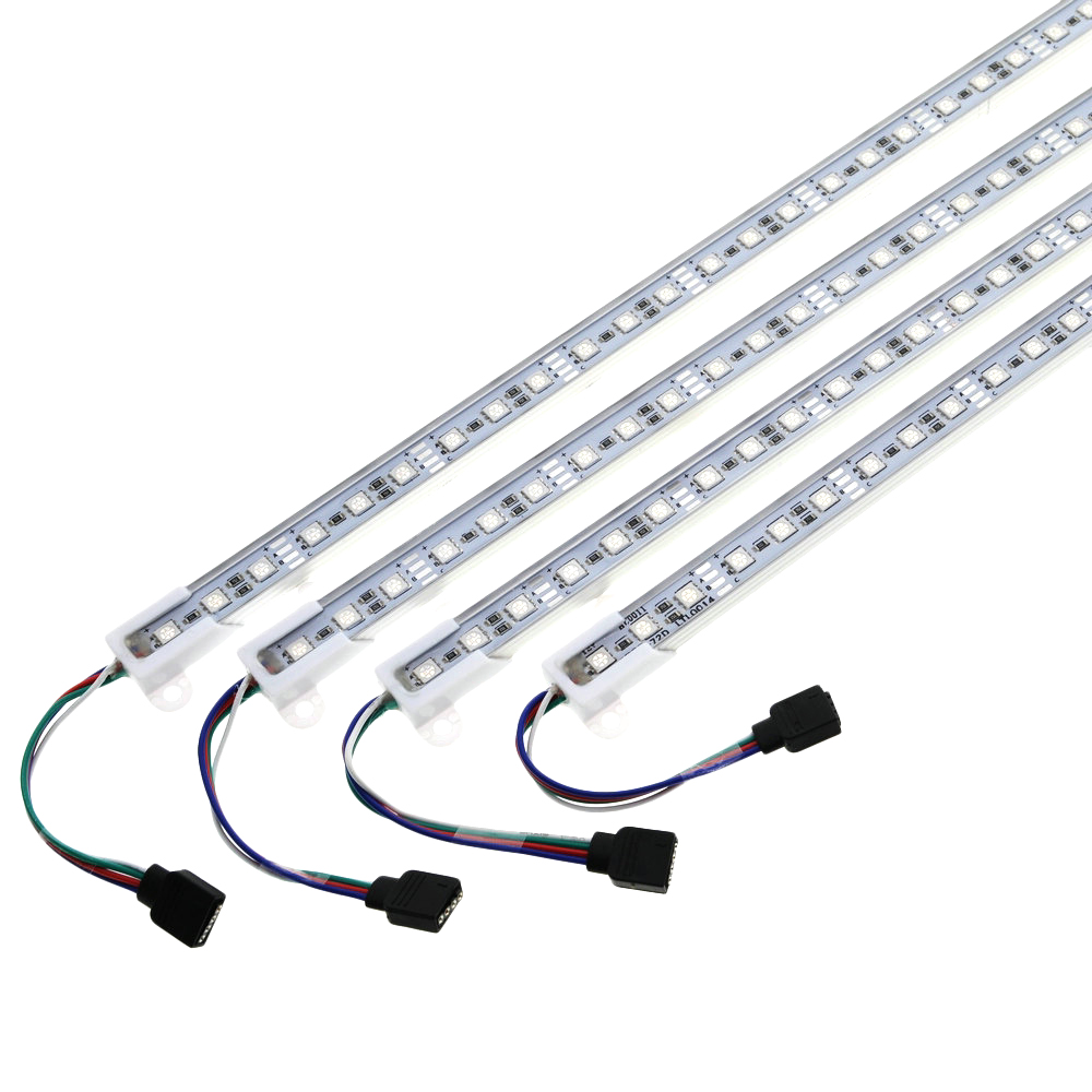 LED Bar Light 5050 RGB 50cm IP68 SMD36LED RGB Lights LED Rigid Strip Swimming Pool DC 12V