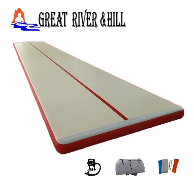 Tapis de gymnastique gonflable de plancher d'air de Cheap8mx1.8mx0.1m
