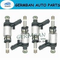 06H906036G 4pcs/set of Fuel Injectors Replacement for 2009 2014 Volkswagen CC G TI Tiguan Passat Je tta Audi A3 A4 A5 Q5 TT 2.0