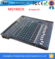 2016 Factory Surprise Price Professional audio mixer MG166CX  16 channel video mixer With Compression and Effects