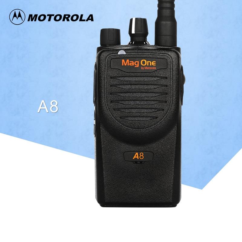 Walkie Talkie Mag One A8 VHF 150-174MHz 5W Portable Two-Way Radio Handle Interphone Ham CB Radio Transceiver(for Motorola)