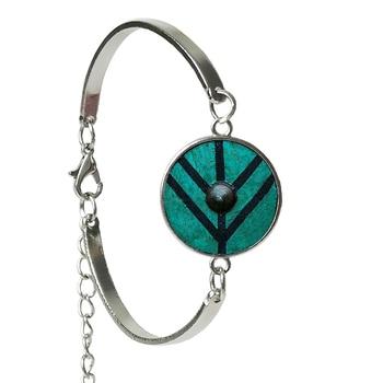 Bracelet Vikings le bouclier de Lagertha  1