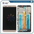 Для Huawei Ascend Mate7 Mate 7 ЖК-дисплей + Сенсорный Экран Digitizer высокое качество Сборки + рамка с логотипом