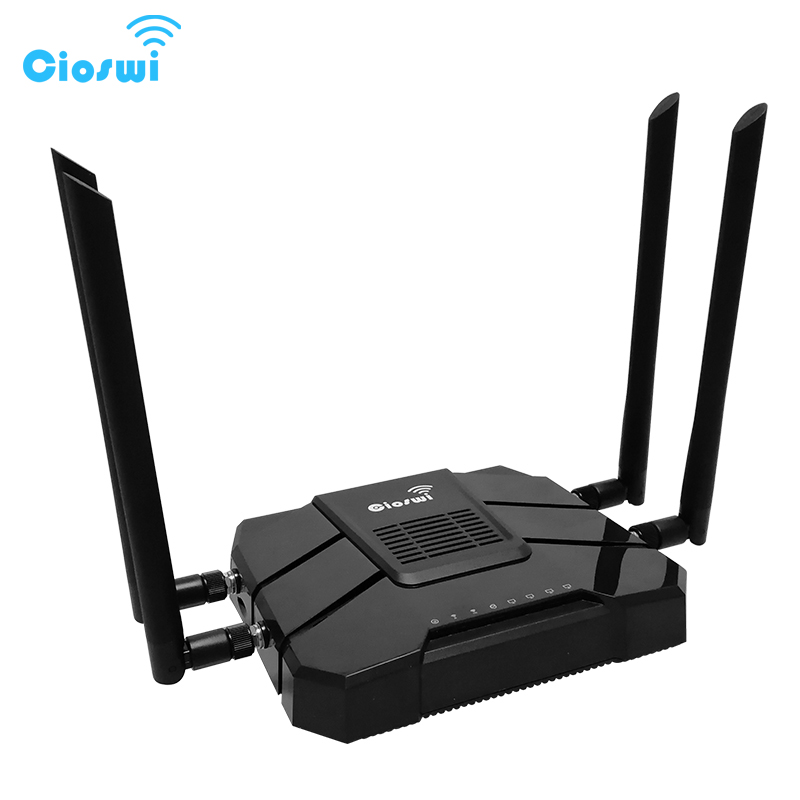 Cioswi WE1326 1200Mbps Gigabit Router Wifi Repeater 5Ghz Openwrt 4G Lte Router Modem 4g Wifi Sim Card MT7621A 11AC Dual Band стоимость